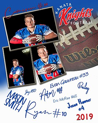 Autograph Memory Mate - Features player and team photos. Get all your teammates to sign this chic keepsake. Includes blue signing marker that won't smudge.
